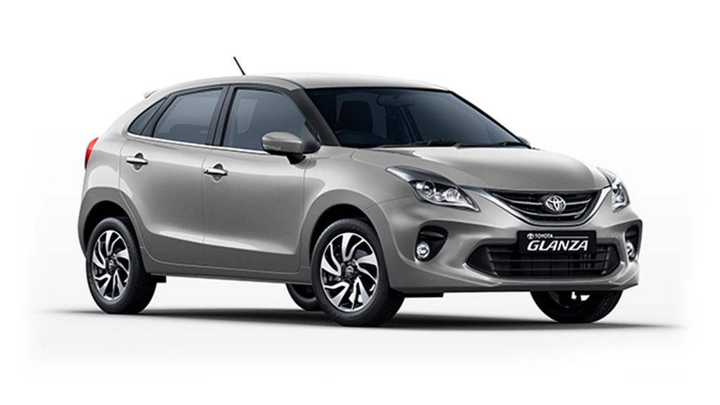 Toyota Glanza Enticing Silver