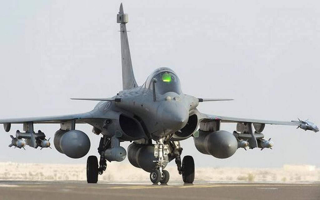Rafale Fighter Jet (Front)