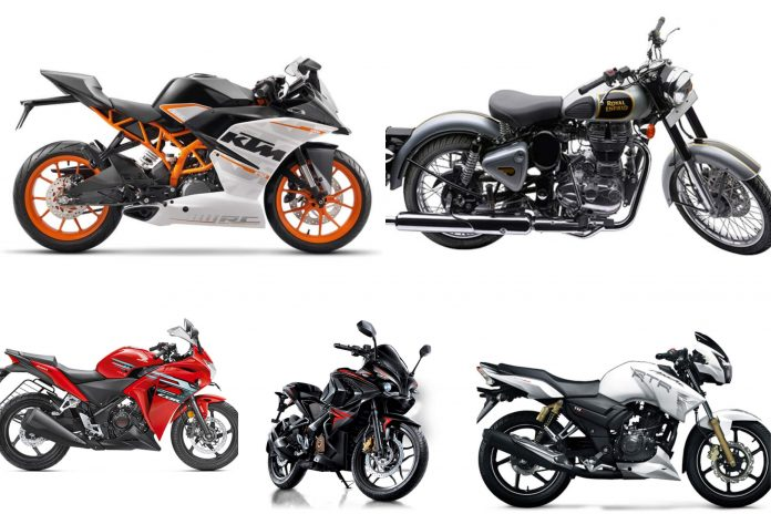 Top 5 motorcycles that are made in India